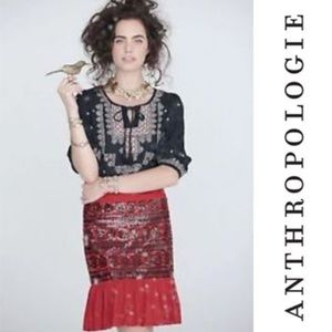 Anthropologie | Moulinette Soeurs Sequin Skirt